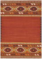"""Loloi Isara Flatweave Ia-01 Red/Gold 5' x 7'6"""" Area Rug"""