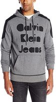 Calvin Klein Jeans Men's Velcro Logo Hoodie