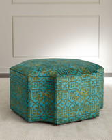 John-Richard Collection John Richard Collection Trellis Ottoman