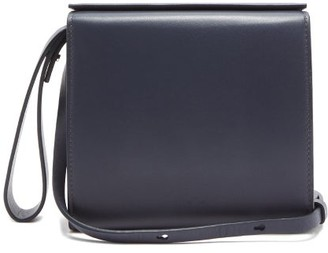 Aesther Ekme Pouch Leather Bag - Navy