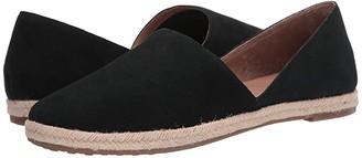Me Too Sunny (Black Split Suede) Women's Shoes