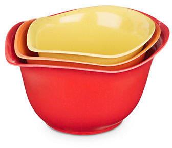 Architec Set of Three Eco-Smart Mixing Bowls