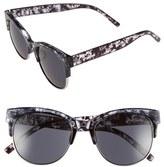 A. J. Morgan Women's A.j. Morgan 54Mm Sunglasses - Grey Tortoise