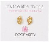 Dogeared Simple Knot Earrings