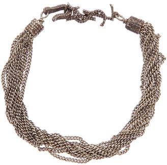 Saint Laurent Loulou Multichain Bracelet
