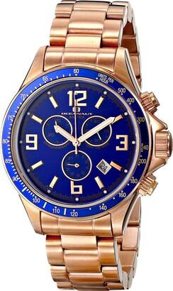Oceanaut Men's OC3332 Baltica Analog Display Quartz Rose Gold Watch