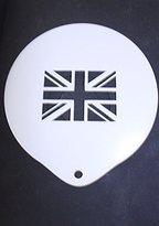 Espressione Cappuccino Stencil - Union Jack