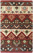 Surya DST381-58 Burgundy Dream Collection Rug - 5 x 8 Ft
