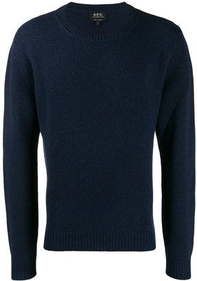 A.P.C. knitted sweatshirt