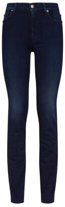 7 For All Mankind Rozie High Waist Slim Jeans