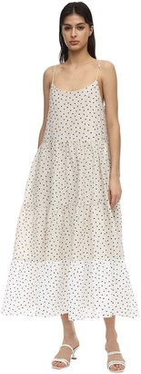 Bec & Bridge Talia Printed Cotton Midi Dress