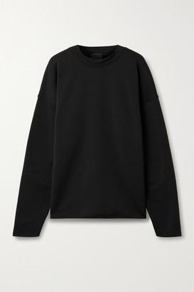 Wone Oversized Fleece Sweatshirt - Black