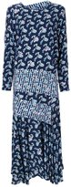 Preen by Thornton Bregazzi contrast check shift dress