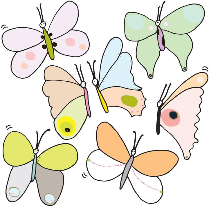 Blik Flutter Re-Stik Set Of 15
