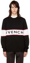 Givenchy Black Logo Sweater