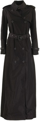 Burberry Battersea Extra Long Shape-memory Taffeta Trench Coat