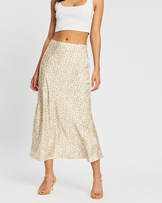 Dazie Summer Days Midi Skirt
