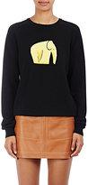 Loewe Women's Elephant Wool-Blend Sweater-BLACK