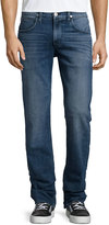 Hudson Blake Slim Straight-Leg Denim Pants, Blue