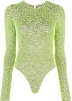 Barbara grid-effect bodysuit