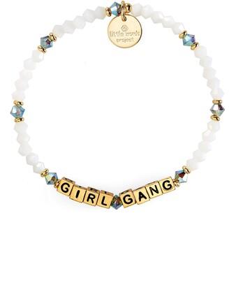 Little Words Project Girl Gang Beaded Stretch Bracelet