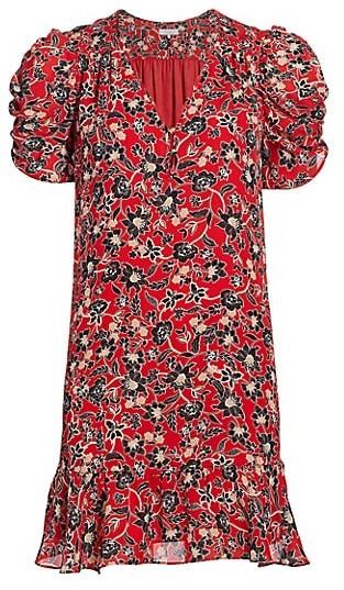Parker Corrine Silk Shift Dress