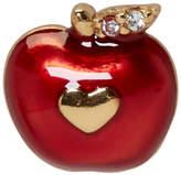 Marc Jacobs Red Single Apple Stud Earring
