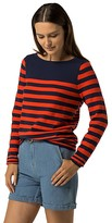 Tommy Hilfiger Final Sale-Stripe Boatneck Sweater