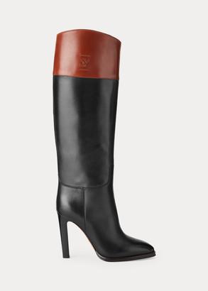 Ralph Lauren Reese Calfskin Boot