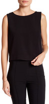 Bella Luxx Moss Crepe Structured Tank