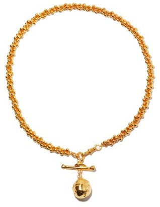 Alighieri L'aura Chapter I 24kt Gold-plated Choker Necklace - Yellow Gold