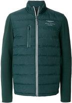 Hackett Aston Martin logo padded jacket