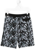 John Galliano paisley print swim shorts