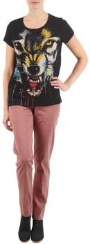 Eleven Paris PANDORE WOMEN women's Trousers in Pink