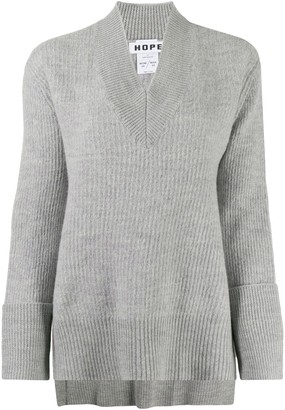 Hope Long-Sleeve Flared Jumper