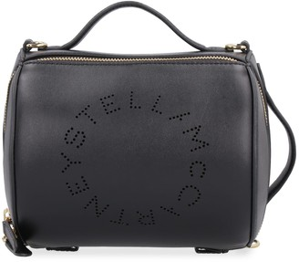 Stella McCartney Small Faux Leather Boston Bag