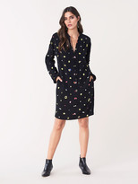 Diane von Furstenberg Jessica Crepe Mini Dress