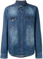 Philipp Plein My Tiger denim shirt - men - Cotton - XL