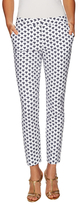 Diane von Furstenberg Genesis Cotton Printed Skinny Pant