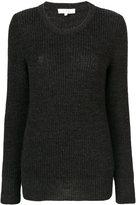 Iro - ribbed detail jumper