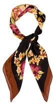Loro Piana Silk Floral Scarf