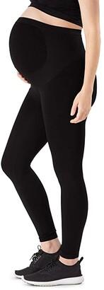 Belly Bandit Bump Support Maternity Leggings (Black) Women's Casual Pants