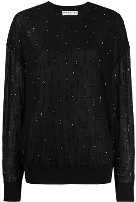 Givenchy Sequin-Embellished Jumper