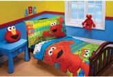 "Sesame Street ABC 123"" 4-Piece Toddler Bedding Set"