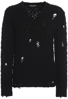 Dolce & Gabbana V Neck Sweater
