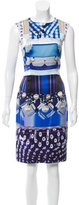 Mary Katrantzou Sleeveless Digital Print Dress