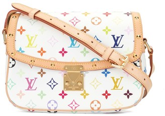 Louis Vuitton x Takashi Murakami 2006 pre-owned Monogram Multicolour Blanc Sologne crossbody bag