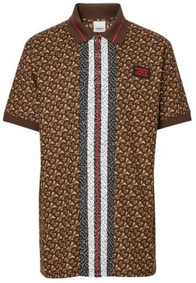 Burberry Tb Monogram Polo Shirt