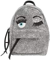 Chiara Ferragni Flirting Eyes Glitter Mini Backpack