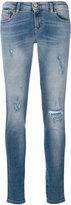 Diesel distressed skinny jeans - women - Cotton/Polyester/Spandex/Elastane - 25/30